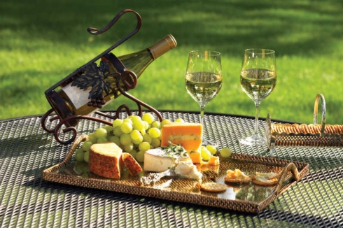 Rectangular Tray w/Glass, Medium collection with 1 products