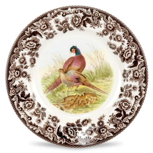 Spode  Woodland North American fish Salad Plate $31.50