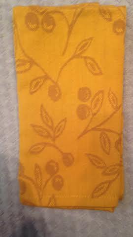 $4.00 Olivia Dijon napkin