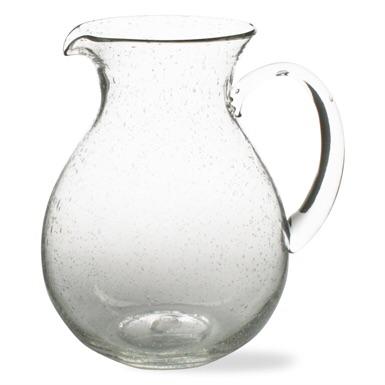 $39.00 Bubble clear pitcher