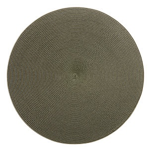 $17.00 2 Tone silver olive placemat