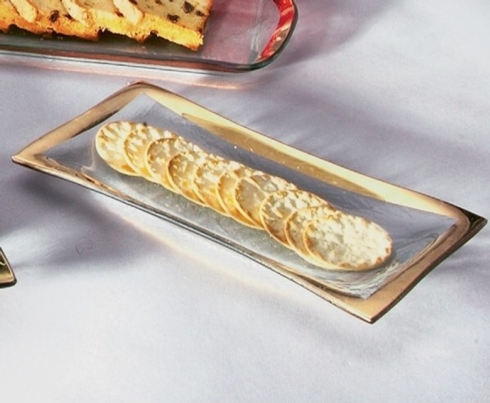 $70.00 Olive tray gold