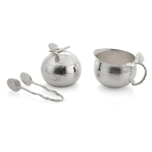 Botanical leaf creamer and sugar collection with 1 products
