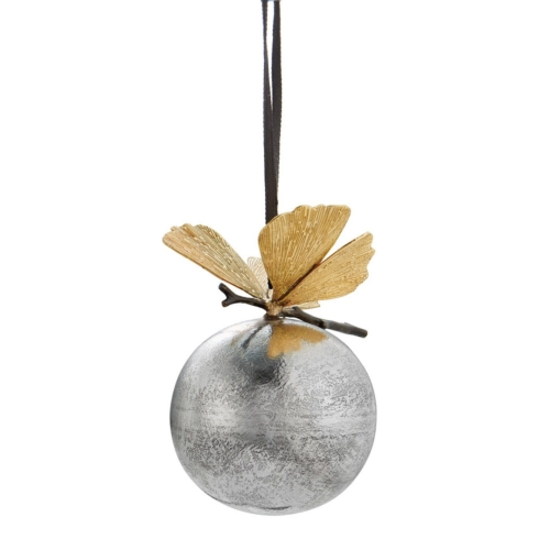 $59.00 Butterfly ginkgo ornament