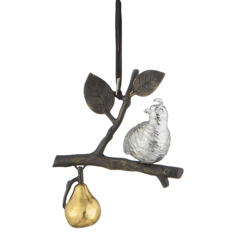 $49.00 Partridge/Pear tree ornament