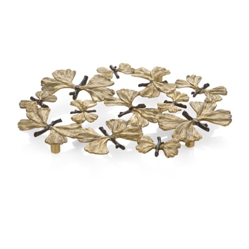 Butterfly ginkgo trivet collection with 1 products
