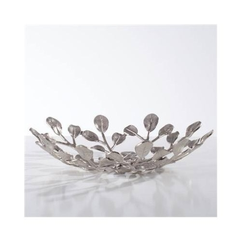 $70.00 Nickel botanical platter