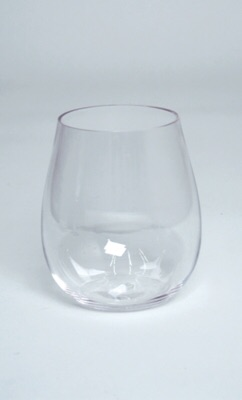 $6.50 Stemless wine