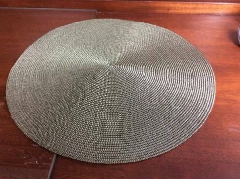 Round placemat BMOSS