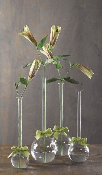 $96.00 Set of 4 bubble vases