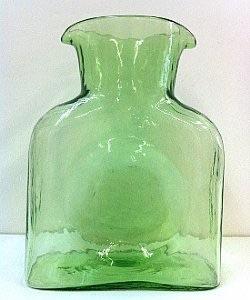 $50.00 Spring green carafe