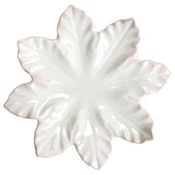 $90.00 Ivory Leaf Platter