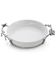 Olive branch pie plate collection with 1 products