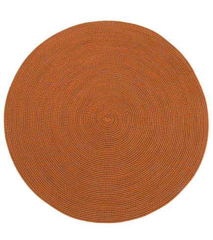$17.00 2 Tone Indo Brown/ Copper placemat