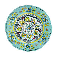 Salad Plate Turquoise Madrid collection with 1 products