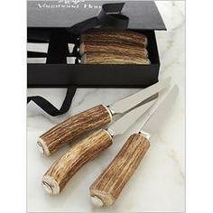 $290.00 S/6 Horn steak knives