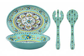 Serving set Turquoise Madrid collection with 1 products
