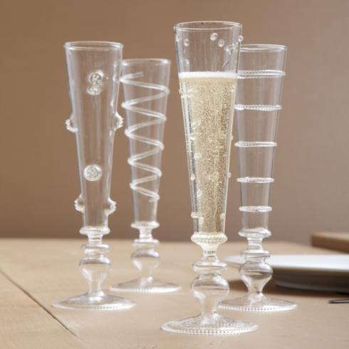 $17.00 Verre champagne flute