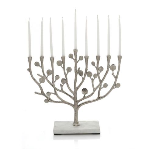 Michael Aram Botanical Leaf Menorah collection with 1 products