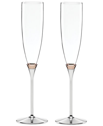 Kate Spade   Rosy Glow Flute/2 $110.00