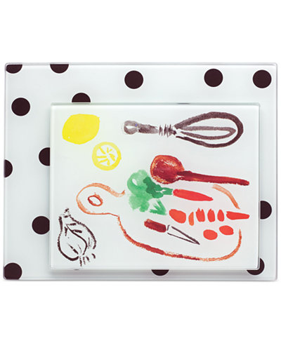 FSR Exclusives   All In good Taste Deco Dot Cutting Board $33.99
