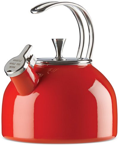 ALL IN GOOD TASTE RED TEA KETTLE
