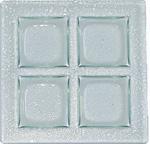 $66.99 Art Glass 4- Section