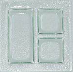 FSR Exclusives   Art Glass 3 Section $64.99