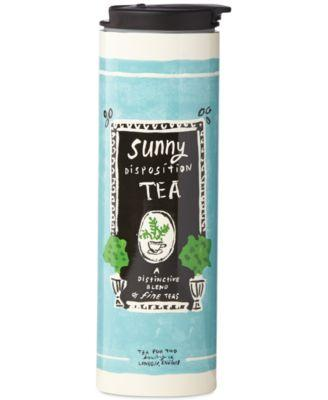 All In Good Taste Sunny Disposition Tea Tumbler