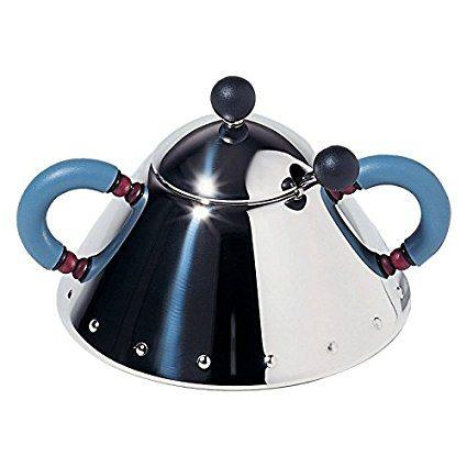 Alessi   Michael Graves Blue Covered Sugar $132.99