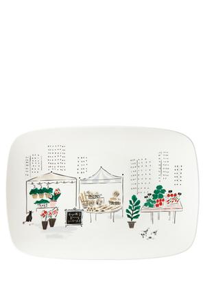 Kate Spade To Market Oblong Platter