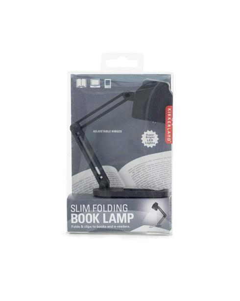 $12.99 Kikkerland Slim Folding Book Lamp