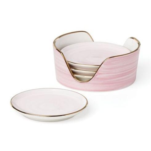 $62.50 Kate Spade Charles Lane Coaster/4 Blush