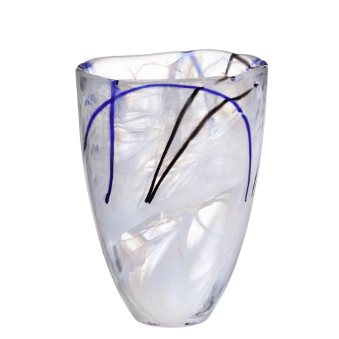 Kosta Boda Contrast White Vase collection with 1 products