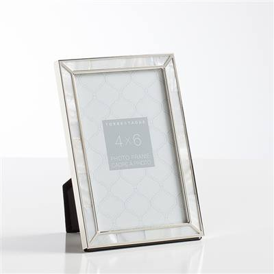 Torre & Tagus Mother Of Pearl Frame 4 X 6 collection with 1 products
