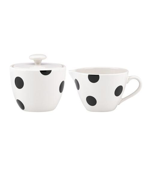 All In Good Taste Deco Dot Cream & Sugar Set