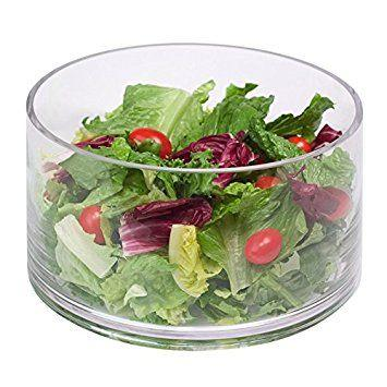 Glass Salad Bowl collection with 1 products