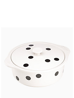 Kate Spade   All In Good Taste Deco Dot Casserole $69.99