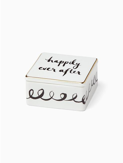 Kate Spade Bridal Party Keepsake Box Happily Ever After