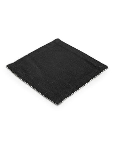 Michael Aram Silver Beaded Napkins Charcol collection with 1 products