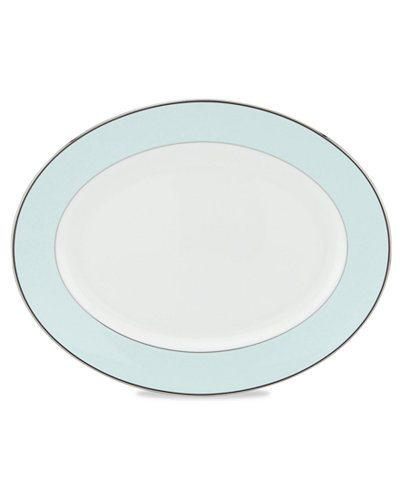 """Kate Spade Parker Place 13"""" Oval Platter"""