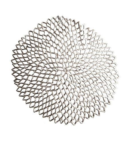 $11.99 Dahlia Placemat (Pewter)