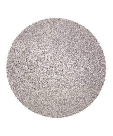 $9.99 Torre & Tagus - Luna Placemat (Silver)