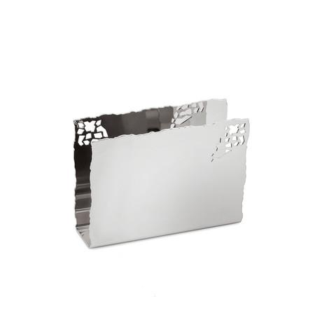 $162.00 Silver Cocktail Napkin Holder
