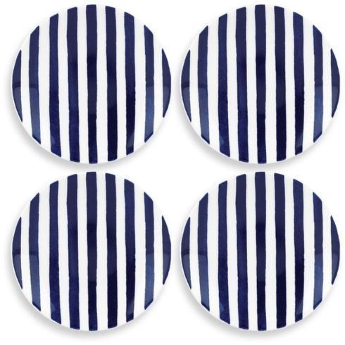 Kate Spade Charlotte Street Tidbit Plates Set/4