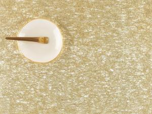 $36.99 Chilewich Metallic Lace Gold