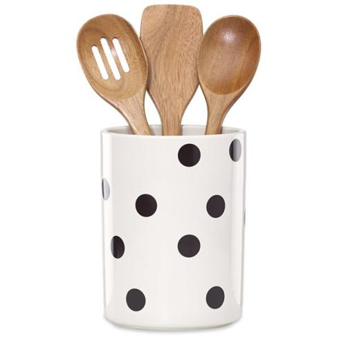 All In Good Taste Deco Dot Wooden Spoon Holder collection with 1 products