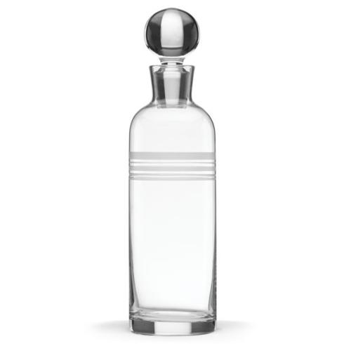 LIBRARY STRIPE DECANTER