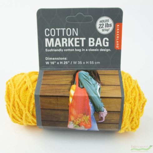 $12.99 Kikkerland Cotton Market Bag