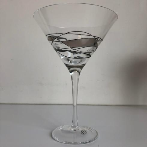 Euroaccents Mosaic Martini Glass collection with 1 products